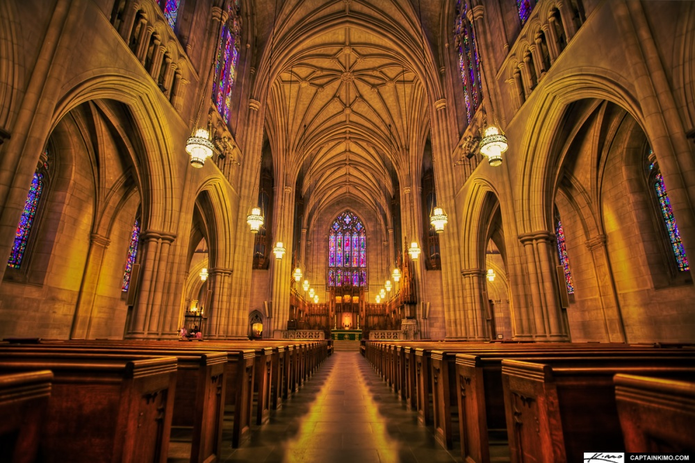 Duke University Chapel in Durham North Carolina