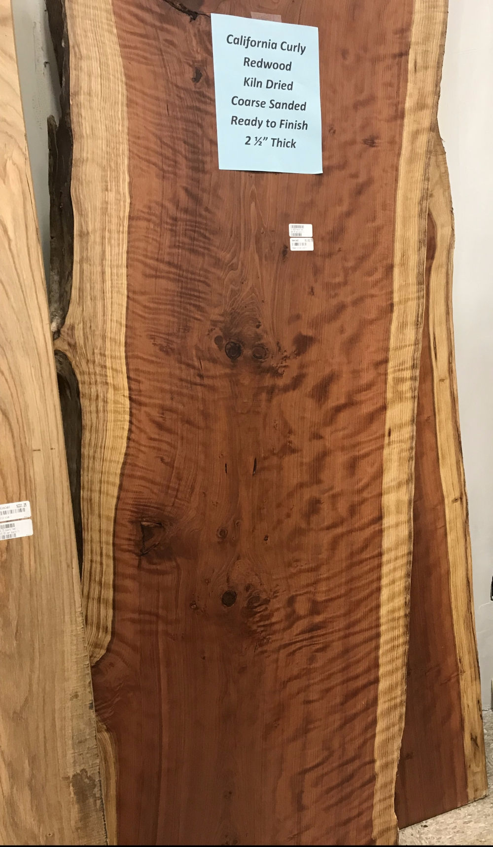California Curly Redwood