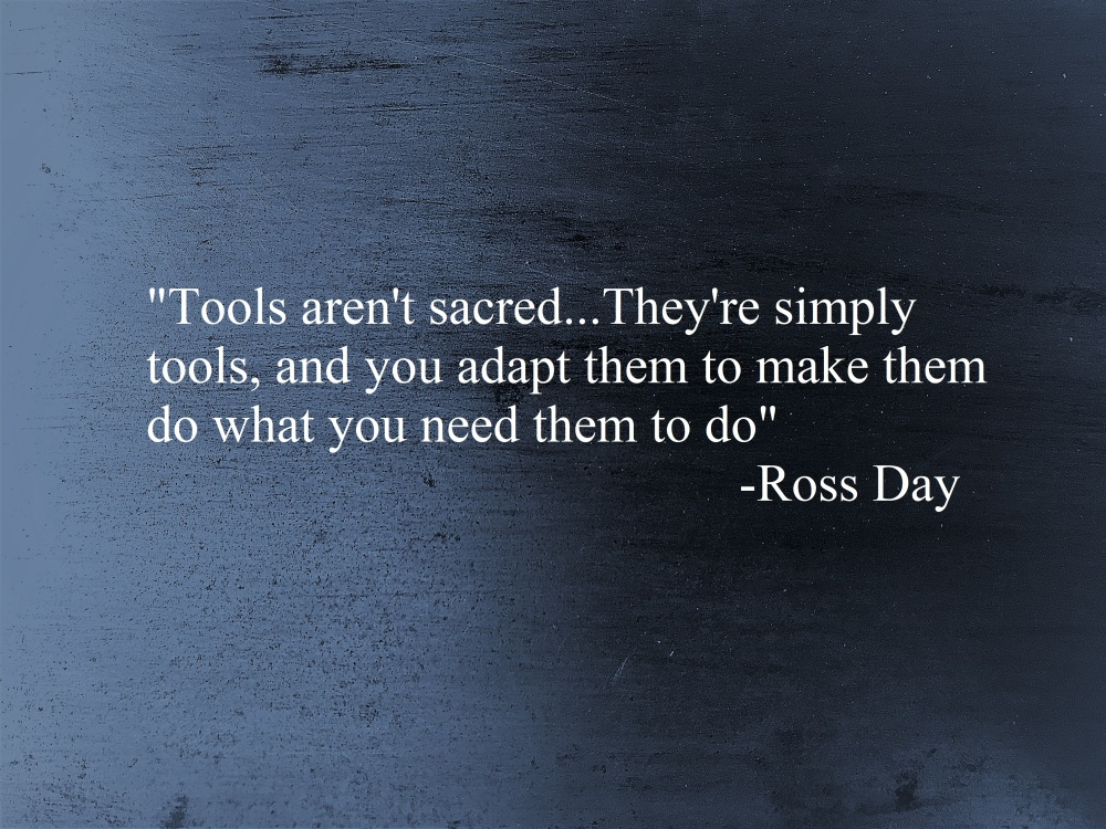 Tools Ross Day